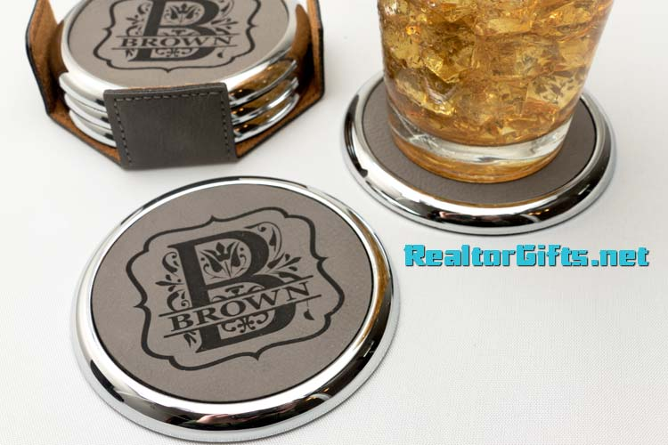 Monogram Coaster Set CS-M9