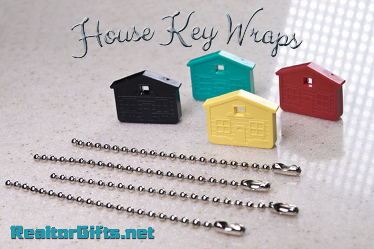 House Key Wraps - BAG OF 50