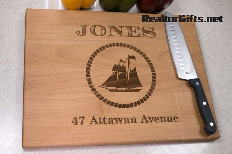 Nautical Cutting Board N2S