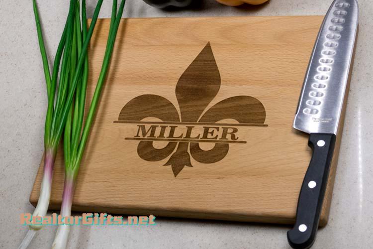 Fleur-de-lis Cutting Board F12