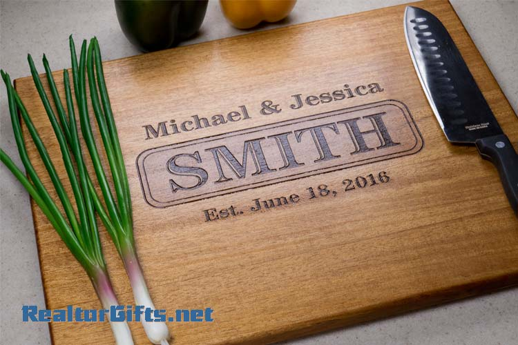 Monogram Cutting Board M14