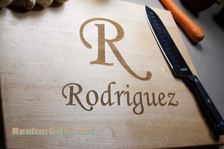 Monogram Cutting Board M4