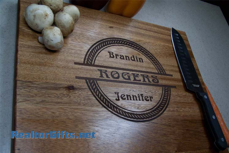 Split Circle Rope Cutting Board Rope1