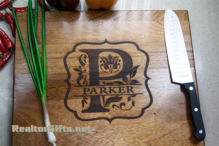 Monogram Cutting Board M9