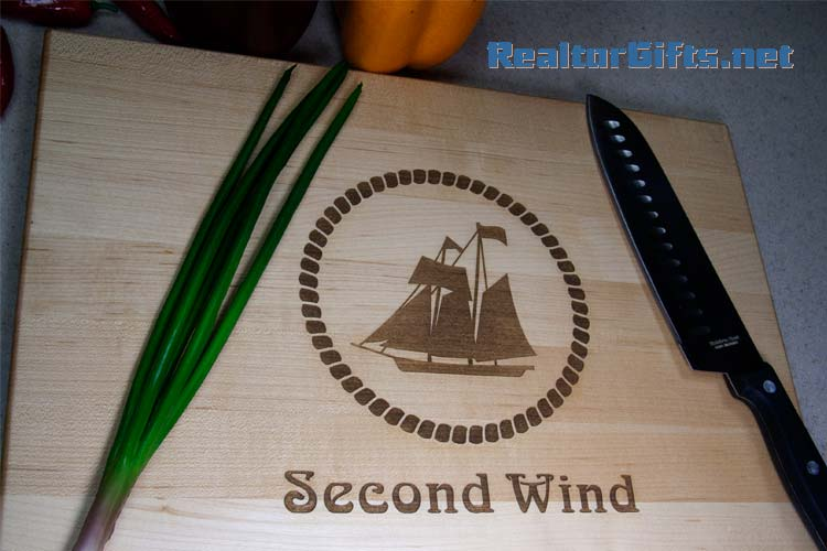Nautical Cutting Board N2