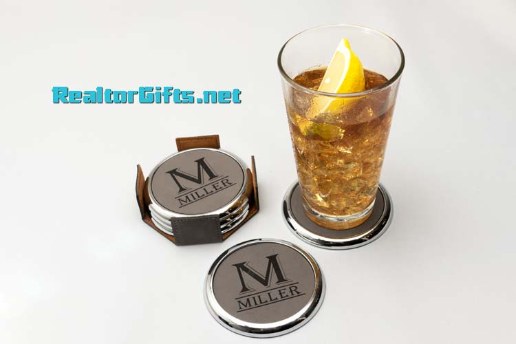 Monogram Coaster Set CS-M2
