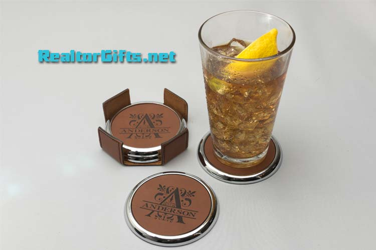 Monogram Coaster Set CS-M3