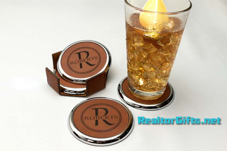 Monogram Coaster Set CS-M7