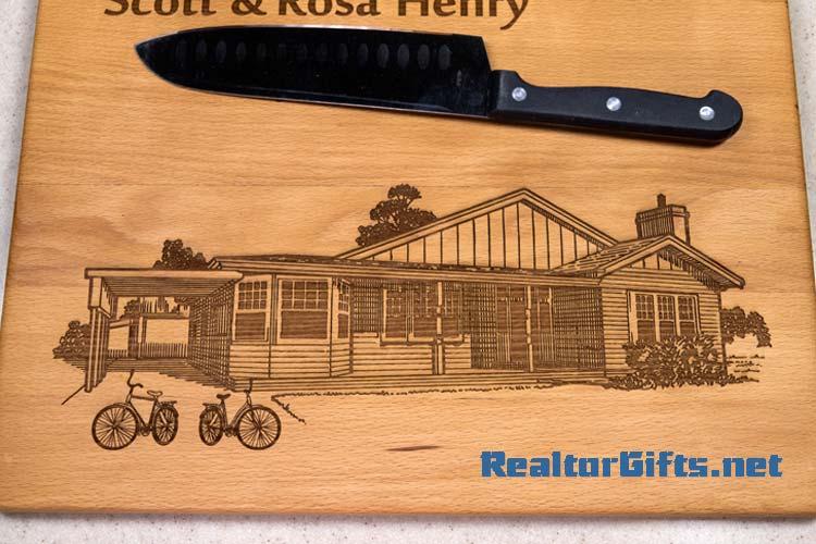 House Cutting Board HSH5