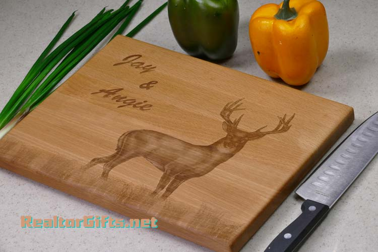 Buck Deer Cutting Board D1