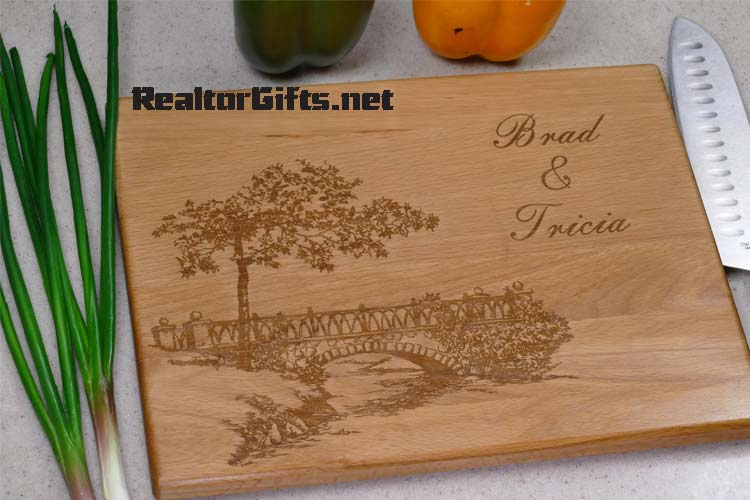 Bridge Scene Cutting Board B1