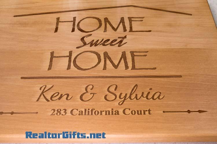 Home Sweet Home Cutting Board HSH2