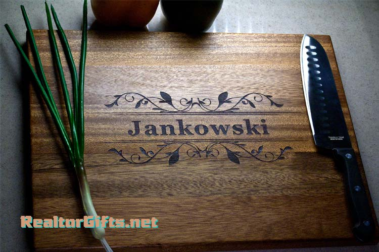Floral Design Cutting Board F7